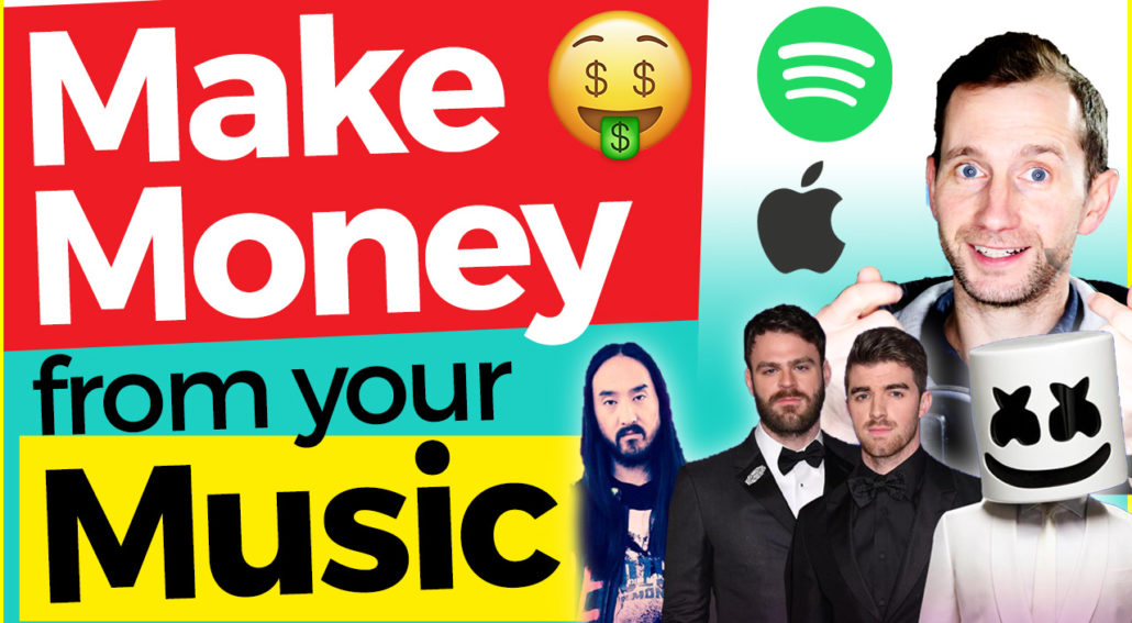 how to make money from your music online