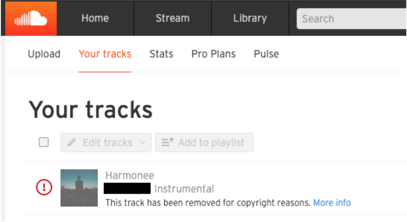 soundcloud strike