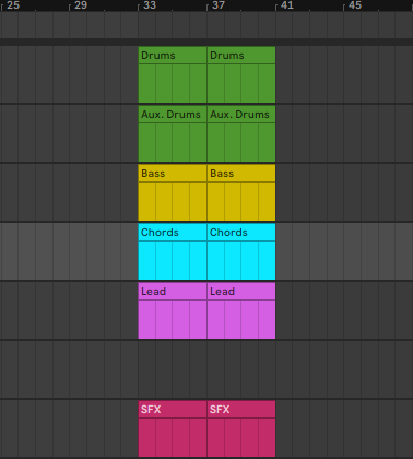 EDM Song Structure - Straring with a Drop